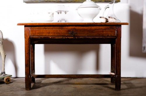 FRENCH PROVINCIAL TABLE DU PAIN (BAKERS TABLE) c. 1790