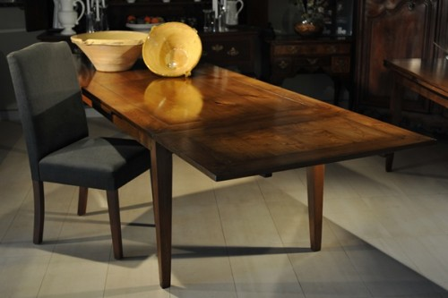 FRENCH CHERRY EXTENSION TABLE