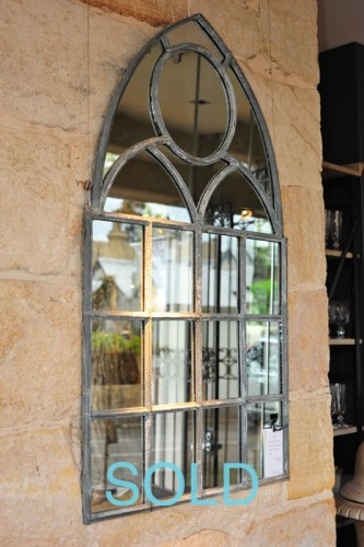 19TH CENTURY WINDOW MIRRORS