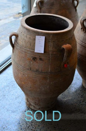 GREEK OLIVE JAR