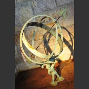 SWEDISH ARMILLARY SPHERE SUNDIAL