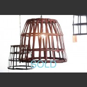 MEDIUM METAL BON BON BASKET LIGHT
