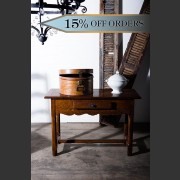 'DU PAIN' FRENCH OAK SIDE TABLE