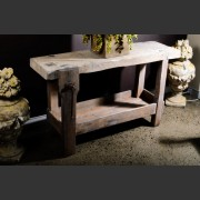 FRENCH BEECH, OAK, AND ELM WORKBENCH
