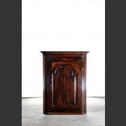 GEORGE I OAK HANGING CORNER CUPBOARD