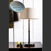 'ADELAIDE' RUST FINISH LAMP