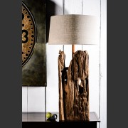 'CAMPAGNE' DRIFTWOOD TIMBER LAMP