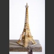 FRENCH DEPRESSION ERA MATCHSTICK EIFFEL TOWER