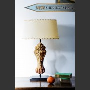 FRENCH IRON CLAW BATH FEET LAMP CONVERSION