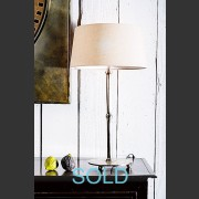 'ADELAIDE' NICKLE FINISH LAMP