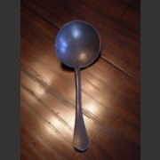 ENGLISH PEWTER LADLE