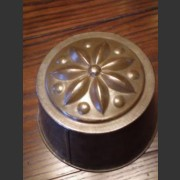 FRENCH TIN JELLY MOULD