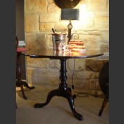 GEORGE III TILT-TOP MAHOGANY TABLE