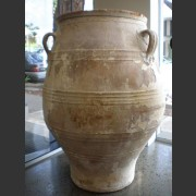RUSTIC EUROPEAN TERRACOTTA URN