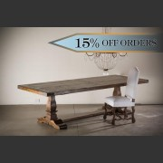 OAK REFECTORY TABLE
