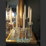 SINGLE TALL COLUMN CANDLESTICK