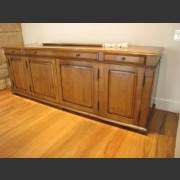 FRENCH CHERRY FLAT SCREEN TELEVISION CABINET