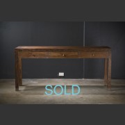 FRENCH FARMNHOUSE 'BORDEAUX' FRENCH OAK 3 DRAWER BUFFET