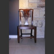 ELM AND OAK COUNTRY CHAIRS C. 1780
