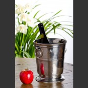 HANDCRAFTED ITALIAN PEWTER WINE COOLER
