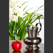 HANDCRAFTED ITALIAN PEWTER WATER JUG