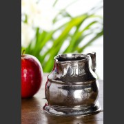 HANDCRAFTED ITALIAN PEWTER SQUAT JUG