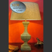 'DIJK' FRENCH LAMP IN SWEDISH GREY