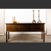 FRENCH FARMHOUSE, ENGLISH STYLE EDWARD DRESSER IN FRENCH OAK