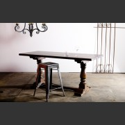 The 'Masters' Table shown here with tall stool.