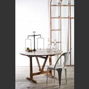 VIGNERON'S TILT-TOP TABLE IN WALNUT