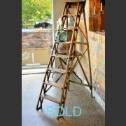 FRENCH BEECH LIBRARY LADDER